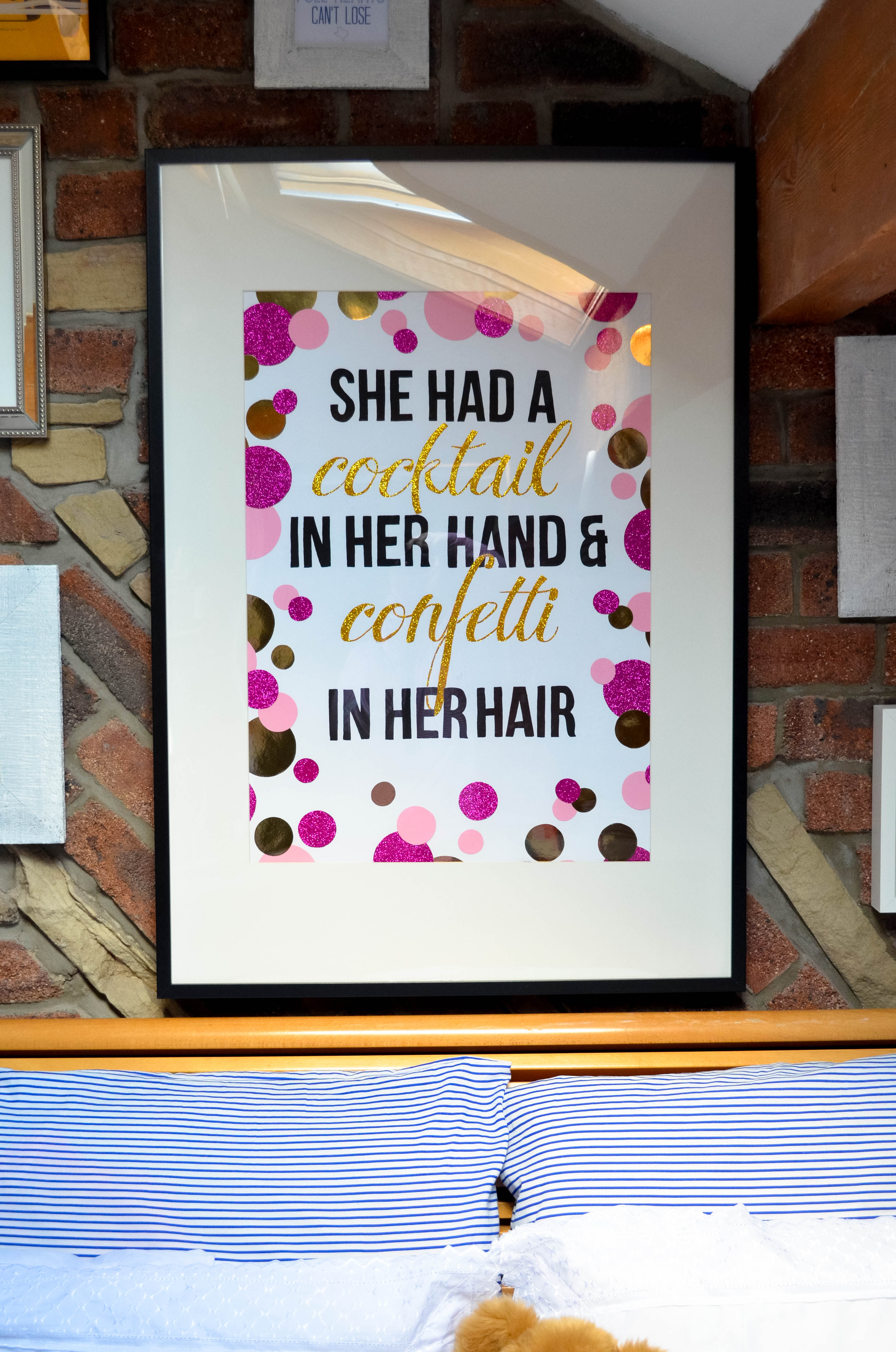 Kate Spade Quotes Diy Kate Spade Quote Poster  A Life Thats Good